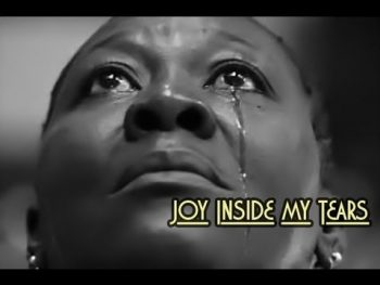 Joy inside my tears